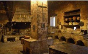 Antica cucina del Monastero delle domenicane di Loro Piceno, già Rocca dei Brunforte