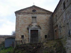 La Madonna Brunna, ex chiesa, a Lapedona
