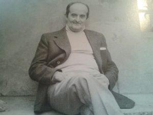 Il pittore Piero Antonelli