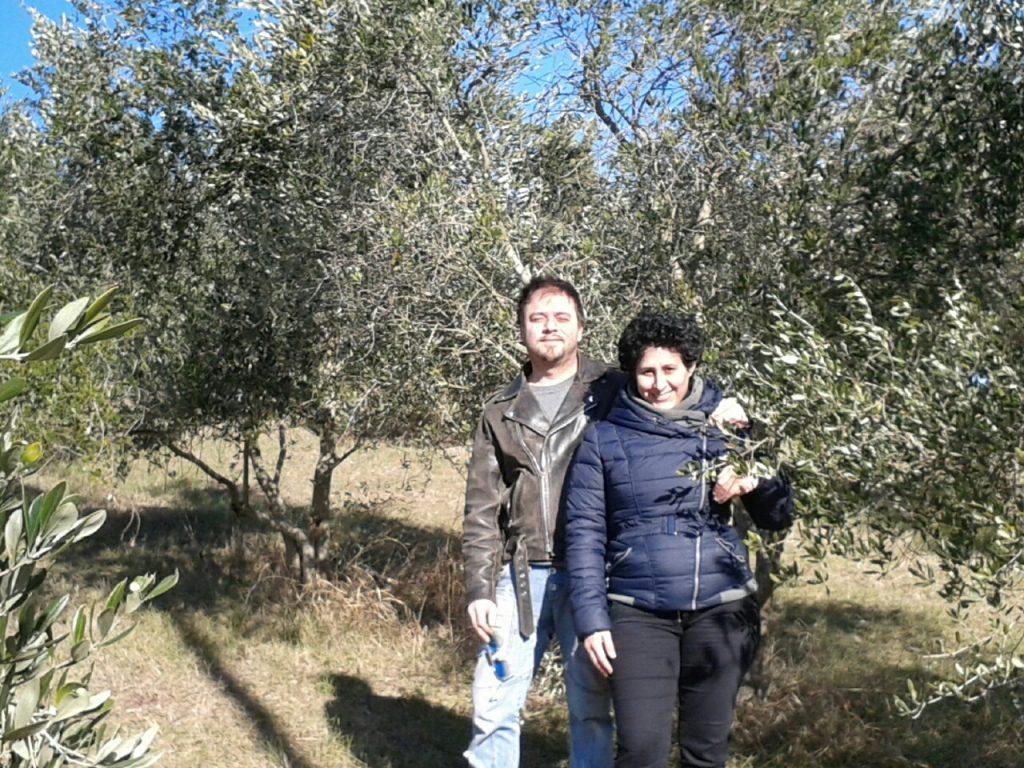 La storia in campagna di Andrea e Valentina