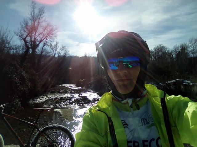 Simona Cintio. Ovvero una pedalata per Santiago de Compostela.