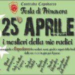 25 APRILE Capodarco : I MESTIERI DELLE MIE RADICI