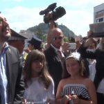 Matteo Salvini in visita a Fermo inaugura la nuova questura