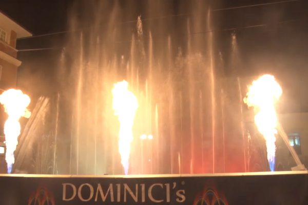 Porto San Giorgio: Natale con gli spettacoli delle Fontane Danzanti