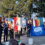 A Sirolo e Numana consegnate le 15 bandiere blu delle Marche