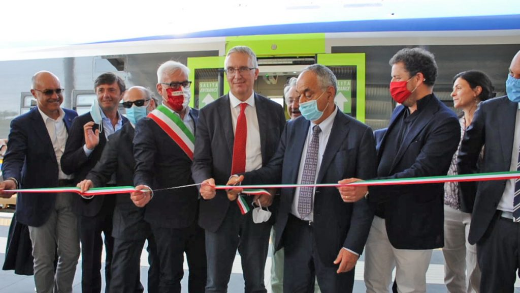 Inaugurata la fermata ferroviaria  Macerata Università
