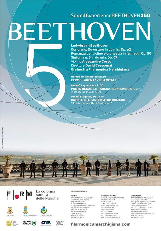 Al via il grand tour della FORM nelle Marche con la Quinta di Beethoven