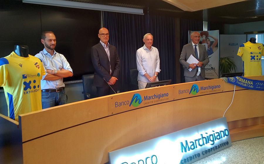 Presentata ufficialmente la partnership tra Fermana e Banco Marchigiano