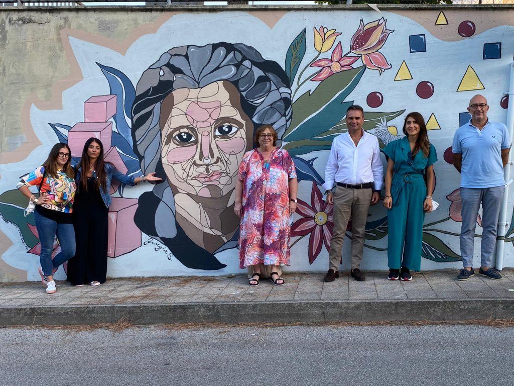 Porto San Giorgio dedica un murale a Maria Montessori