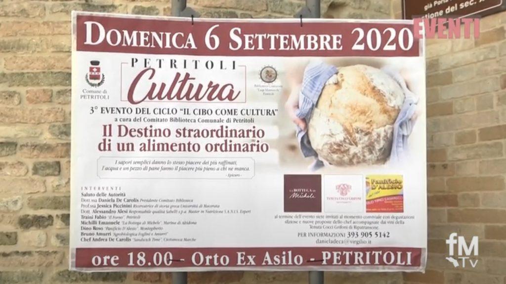 Fm Eventi – Il Cibo come cultura – Petritoli