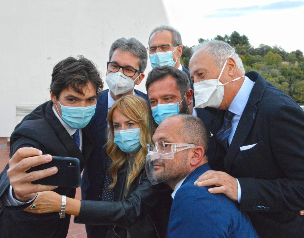 Presentata in Regione la Giunta del presidente Francesco Acquaroli.