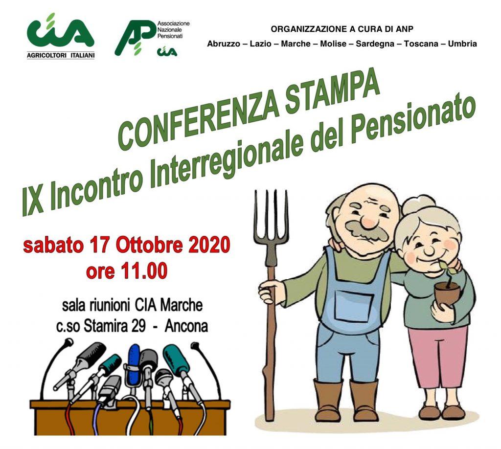 """Conferenza Stampa """"Tutela del pensionato – una risorsa per la ripresa e lo sviluppo del paese"""""""