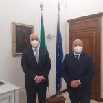 Gino Sabatini in visita a S.E. il Prefetto di Macerata Flavio Ferdani