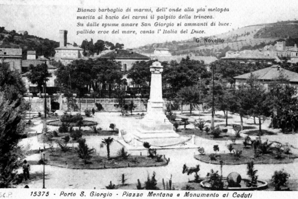 Comitato del verde su Piazza Mentana