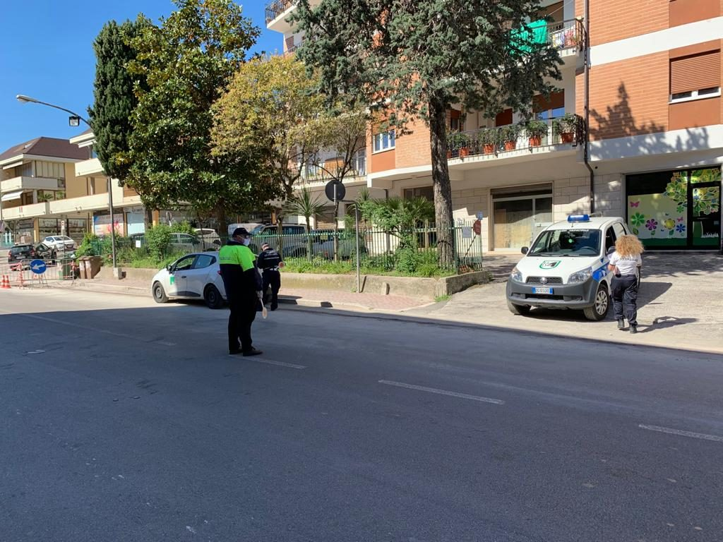 Grottammare: Controlli anticovid, il bilancio della Polizia locale