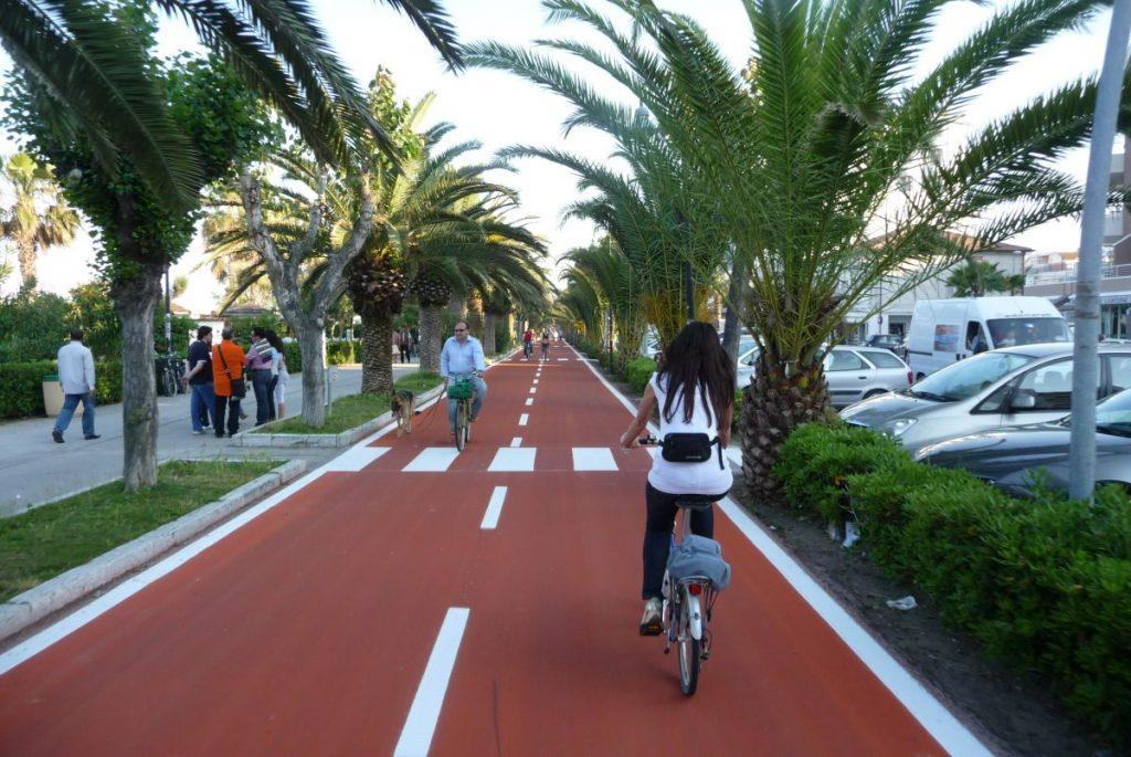 Ciclovia Adriatica. La Regione fa il punto sul ponte fra Civitanova e Porto Sant'Elpidio