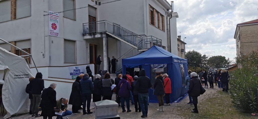 Al via le vaccinazioni a Fermo e Porto Sant'Elpidio