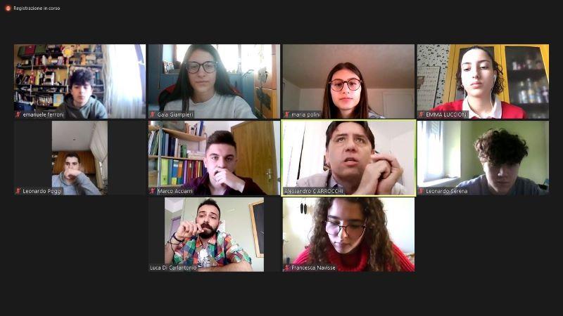 Giovani e ambiente: il T.C.O. di Fermo in conferenza con l'assessore Ciarrocchi sulle politiche ambientali