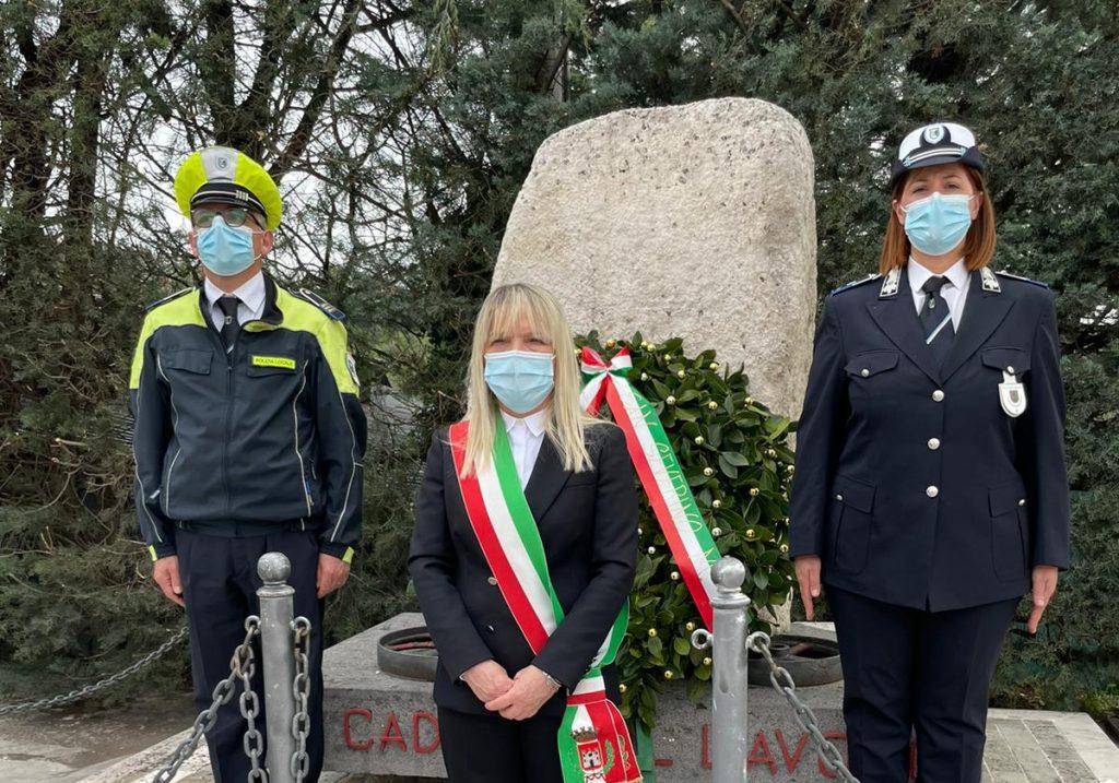 San Severino Marche: 1 Maggio, Preghiera e corona d'alloro in ricordo vittime lavoro