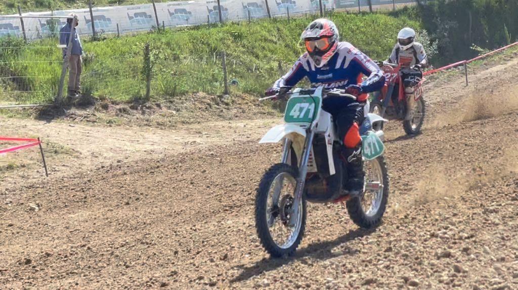 Max Giusti al crossodromo di monterosato su ktm