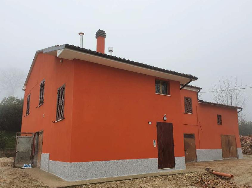 San Severino: ritorna agibile un'abitazione in località Parolito
