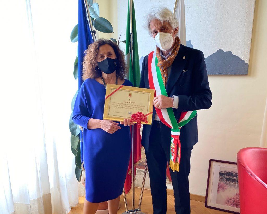 Macerata: Anna Pisani in pensione