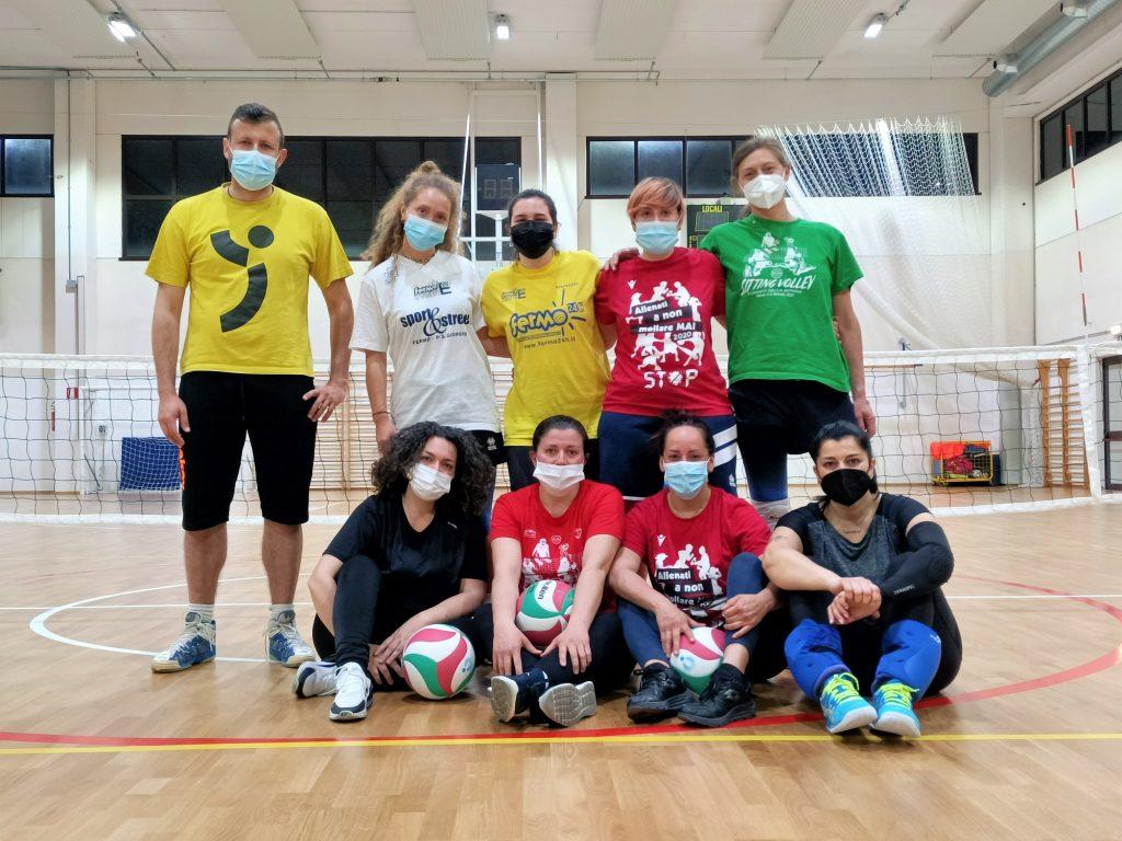 Sitting Volley, le ragazze di Fermo e San Giusto ai campionati italiani