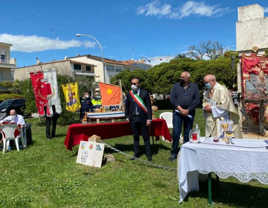 Porto San Giorgio: Omaggio alle vittime del fortunale, Loira: Memoria da portare avanti