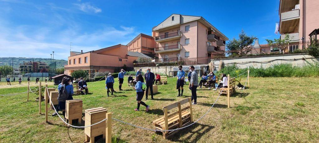 Centobuchi: nuova area verde attrezzata grazie al gruppo scout AGESCI Monteprandone