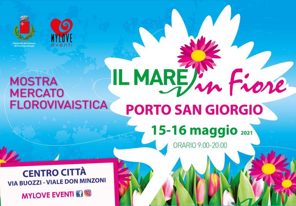"""Mare in fiore"""", 60 stand per animare Porto San Giorgio il 15 e 16 maggio"""
