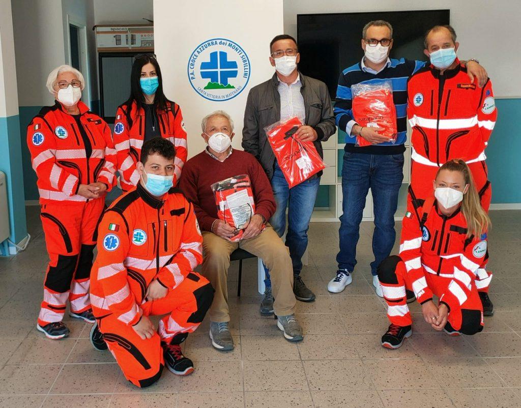 Cooperativa Sibilla sostiene il Progetto Sibillini Solidali della Croce Azzurra