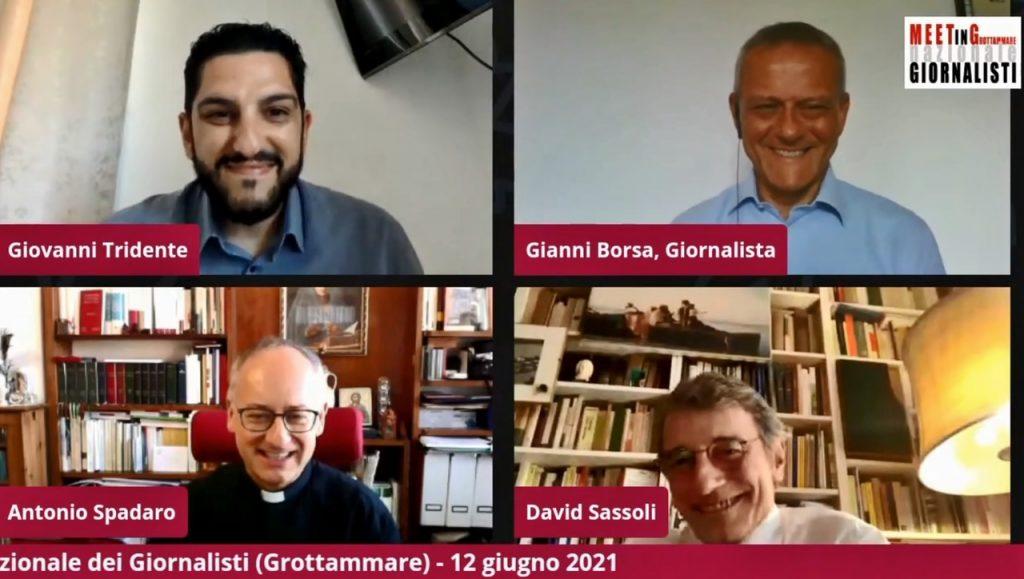 """L'Europresidente Sassoli:  La """"Fratelli Tutti"""" di Papa Francesco è un vero testo politico"""