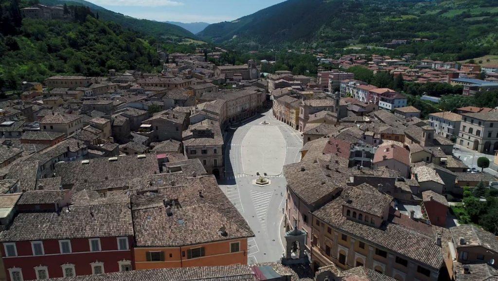 San Severino Marche con il suo centro storico si candida tra i borghi più belli d'Italia