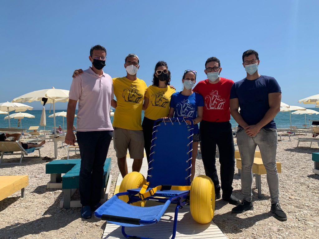 Porto S.Elpidio: Spiagge accessibili con le carrozzine da mare