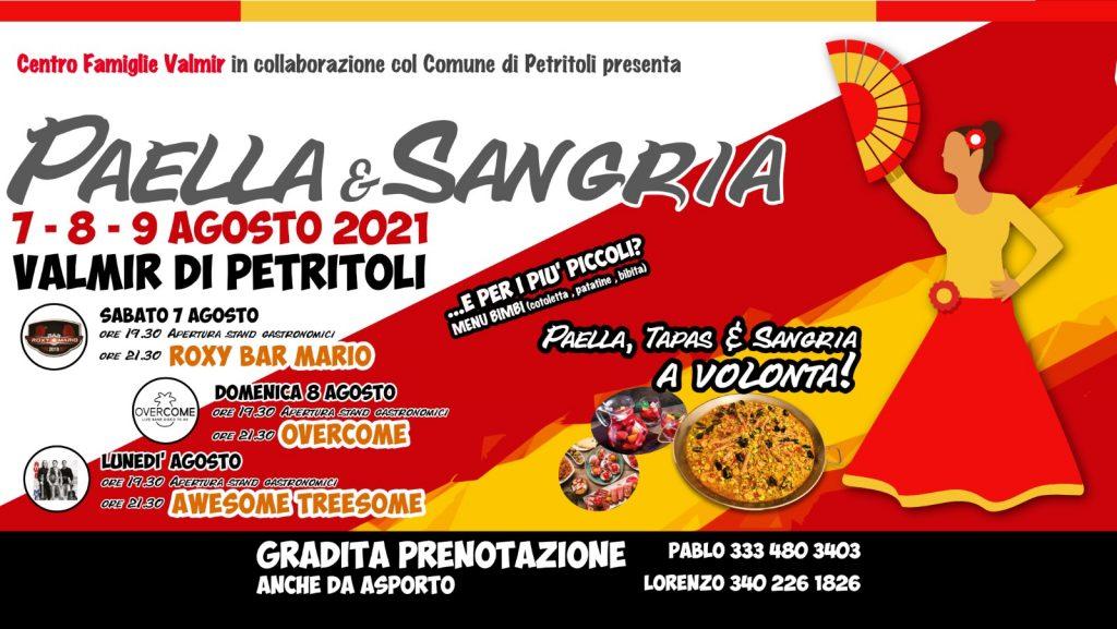 I sapori della Spagna a Valmir con Paella e Sangria