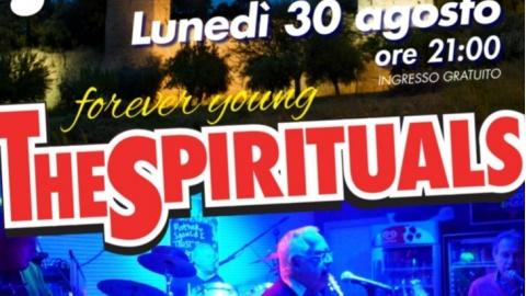 """""""The Spirituals"""" in concerto Lunedì 30 agosto alle ore 21 a Rocca Tiepolo"""