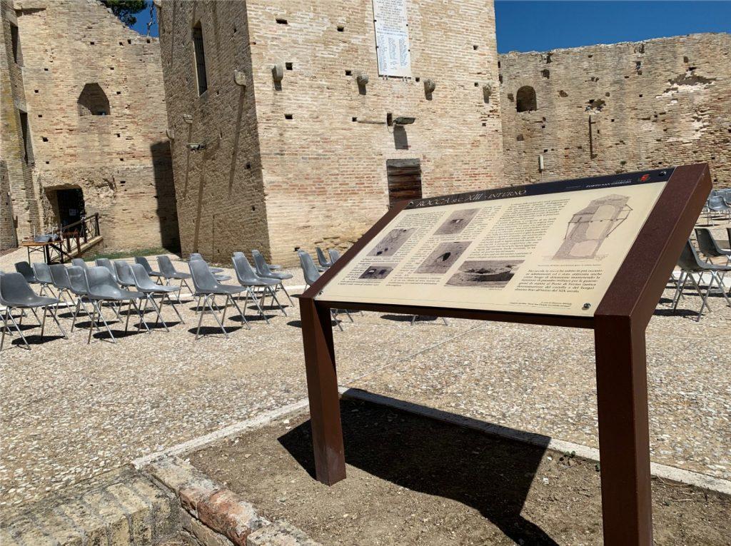 """Plance informative a Rocca Tiepolo, Baldassarri: """"Guidano alla scoperta e completano il recupero"""""""