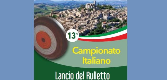 Lancio del rulletto, a Fermo i campionati italiani a squadre