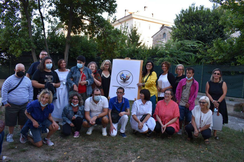 Presentato il logo della commissione per le pari opportunità realizzato dai ragazzi dei centri diurni del territorio a Sant'Elpidio a Mare