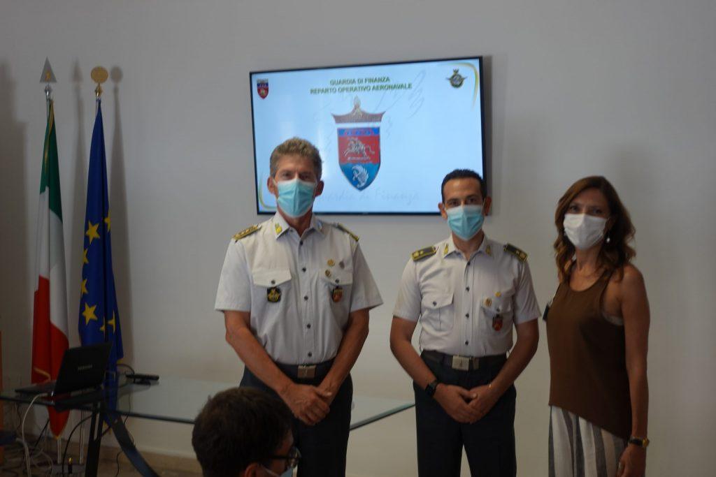 Reparto Operativo Aeronavale della Guardia di Finanza di Ancona: traccia il consuntivo dell'attività estiva