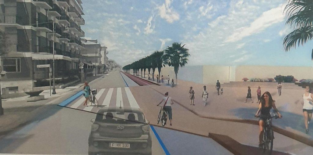 Lungomare e ciclabile, il comune di Porto San Giorgio presenta il progetto ai balneari