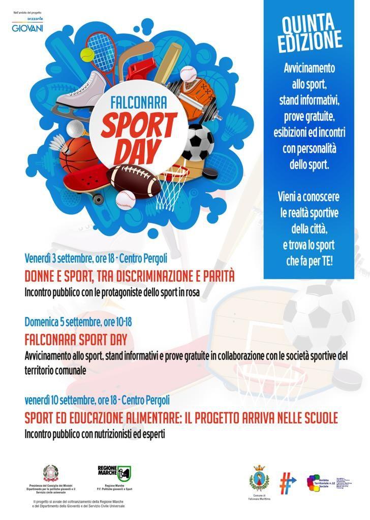 Giovani, attività fisica e salute: torna il Falconara Sport Day