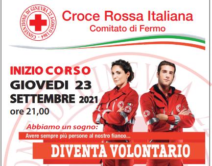 Volontari della Croce Rossa, nuovo corso al via