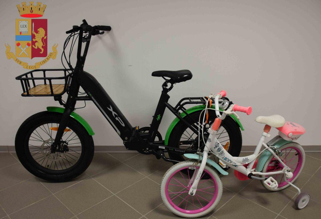 Ritrovate due bici rubate a Lido Tre Archi